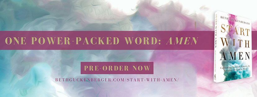 Start With Amen- Join the Book Club!